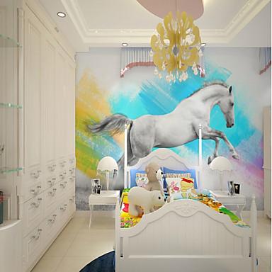tapeta / Mural Platno Zidnih obloga - Ljepila potrebna Art Deco / Uzorak / 3D