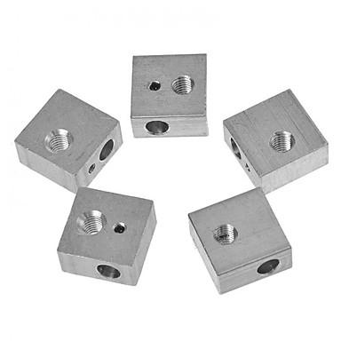 preiswerte 3D-Drucker Teile & Zubehör-Tronxy® 1 pcs Aluminiumblock für 3D-Drucker