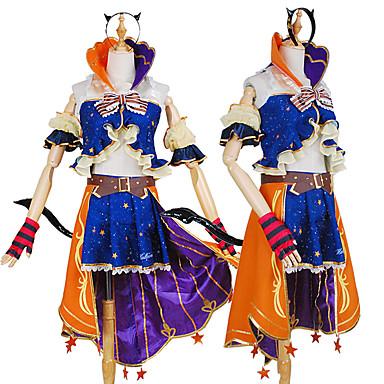 Inspirirana Ljubav uživo Cosplay Anime Cosplay nošnje Japanski Cosplay Suits Kreativan / Color block Shirt / Top / Pojas Za Muškarci / Žene / Plašt