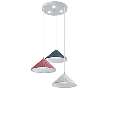 QINGMING® 3-Light Mini Privjesak Svjetla Ambient Light Slikano završi Metal Mini Style 110-120V / 220-240V Meleg fehér / Hladno bijela