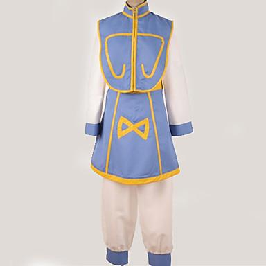 Ihlette Hunter X Hunter Kurapika Anime Szerepjáték jelmezek Japán Cosplay ruhák Minta / Egyszerű Felső / Nadrágok / Öv Kompatibilitás Férfi / Női