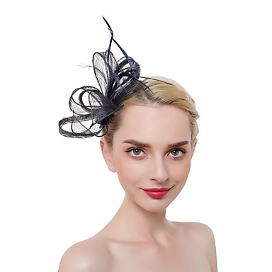 Tulle   Feather Headwear with Bowknot 1 pc Wedding   Party   Evening  Headpiece 7016636 2019 –  12.99 7f43df65f00