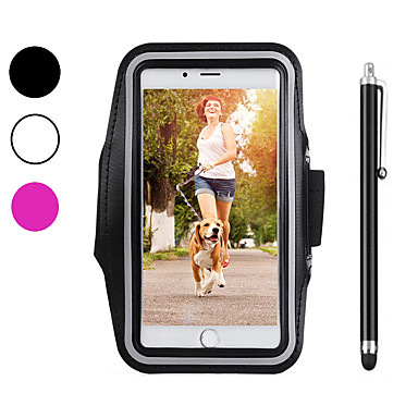 Case For Apple iPhone XS / iPhone XR / iPhone XS Max Sports Armband / Shockproof / Dustproof Armband Solid Colored Soft Carbon Fiber