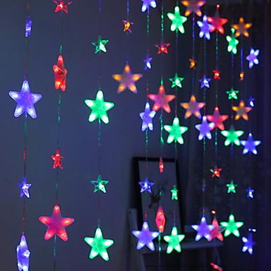 4m Žice sa svjetlima 272 LED diode Više boja Ukrasno 220-240 V 1set