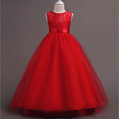 2499 Princesas Princesa Vintage Años 70 Años 80 Disfraz Chica Niños Vestidos Ropa De Fiesta Morado Rojo Azul Cosecha Cosplay Poliéster Sin
