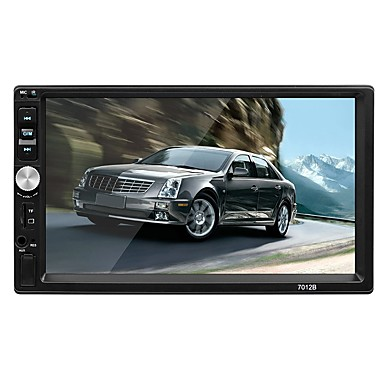 [$26 99] SWM 7012 7 inch 2 DIN OS Car MP5 Player Touch Screen / MP3 /  Built-in Bluetooth for RCA / TV Out / Bluetooth Support MPEG / AVI / MPG  WMA /