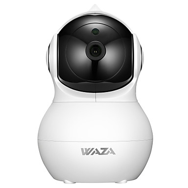 povoljno Zaštita i sigurnost-WAZA SC02 2 mp IP kamere Unutrašnji podrška 64 GB / PTZ / CMOS / Bez žice / iPhone OS / Android