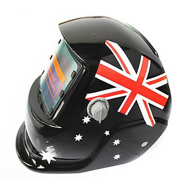 britanska zastava uzorak solarna automatska fotoelektrična maska za zavarivanje