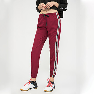 BIGTREE Kadın's Harem Bağcık Yoga Pantolonları Desen Zumba Fitness Alt Giyimler Aktif Giyim Hafif Nefes Alabilir Mikro-Esnek Salaş