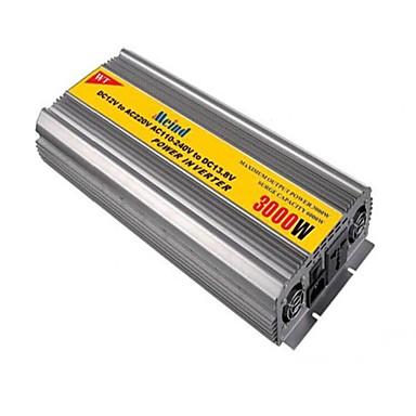 billige Strøminverterer-meind® strøm inverter 3000W med lader 12V DC til 220V AC Kalkulator bil omformerne strømforsyning m3000cd
