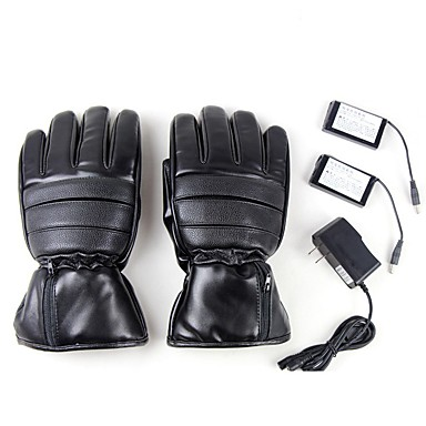 Full Finger All Motorcycle Gloves Leather Keep Warm / Protective