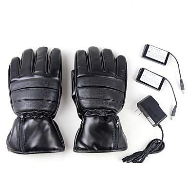 אצבע מלאה כל כפפות אופנוע עור שמור על חום הגוף / מגן