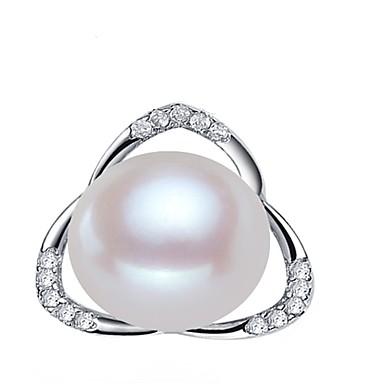 levne Dámské šperky-Sladkovodní perla Květiny Přívěšky - Perly Květinová řada minimalistický styl, Módní, Moderní Bílá / Světlá růžová / Fialová Pro Večírek Dar Dámské