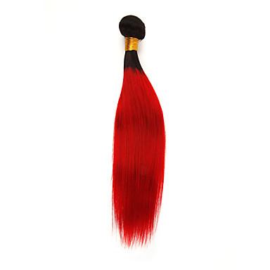povoljno Ekstenzije od ljudske kose-1 paket Brazilska kosa Ravan kroj Remy kosa Ekstenzije od ljudske kose 10-26 inch Isprepliće ljudske kose Nježno Najbolja kvaliteta Novi Dolazak Proširenja ljudske kose