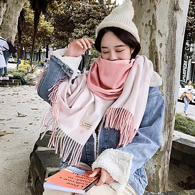 Mouwloos Imitatie Cashmere Bruiloft / Feest / Uitgaan Damessjaals Met Patroon / Print / Bloem Omslagdoeken / Sjaals