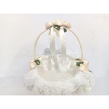 """cheap Gifts & Decorations-Flower Basket Lace 8 3/5"""" (22 cm) Lace / Floral 1 pcs"""