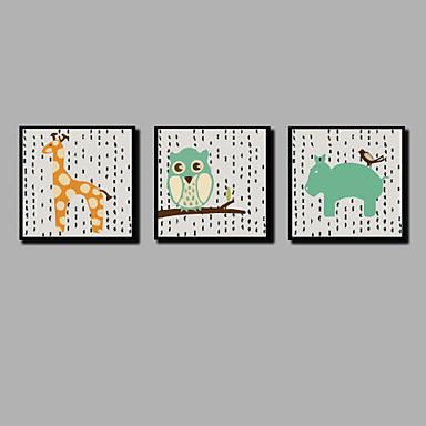 povoljno Ukrašavanje zidova-Print Stretched Canvas Prints - Božić Moderna Comtemporary Moderna