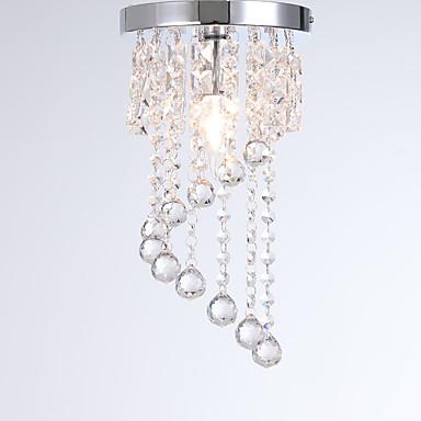 OYLYW Kristal Flush Svjetla Ambient Light Electroplated Metal Crystal, New Design 110-120V / 220-240V
