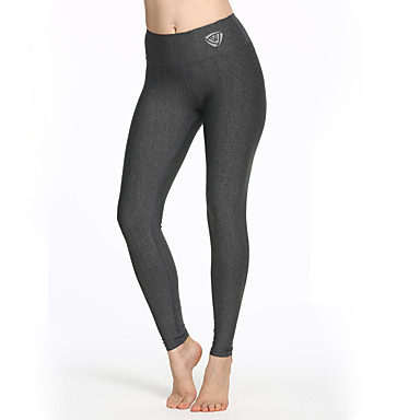 f04e5e87e974b4 LUCK PANTHER Women's Yoga Pants Dark Grey Sports Classic Spandex Tights  Zumba Running Fitness Activewear Breathable Moisture Wicking Power Flex 4  Way ...