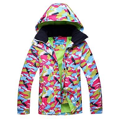 RIVIYELE Žene Skijaška jakna Zimski sportovi Vjetronepropusnost Toplo Prozračnosti POLY Majice Skijaška odjeća / Zima