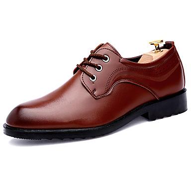 Muškarci Formalne cipele Sintetika Proljeće & Jesen Posao / Uglađeni Oksfordice Non-klizanje Crn / Braon / Šljokice / Svečane cipele / Udobne cipele