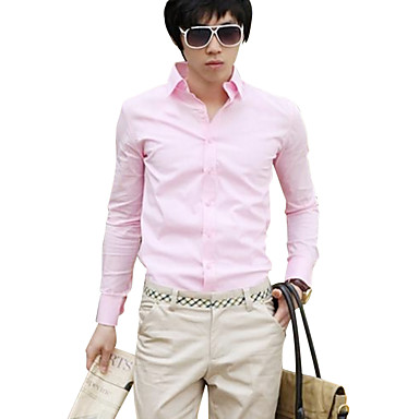 7c4feca348ef maidu ανδρών μόδας καραμέλα χρώμα πουκάμισο αναψυχής ανδρών ...