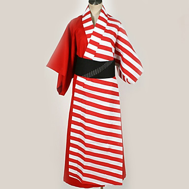 Inspired by Cosplay Cosplay Anime Cosplay Costumes Japanese Cosplay Suits Lines / Waves More Accessories / Costume For Men's / Women's