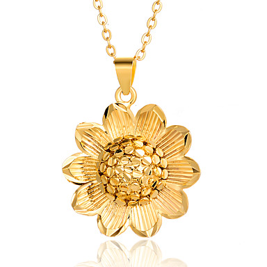 Luxury Gold  Blue Starfish Flower Pendant Evening Party Necklace Jewellery N216