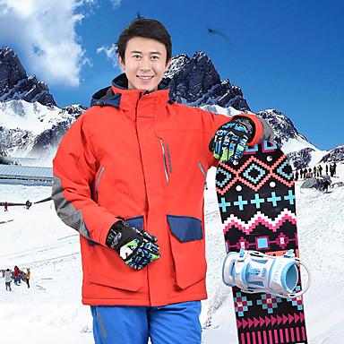 MARSNOW® Muškarci Skijaška jakna Skijanje Snowboarding Zimski sportovi Vodootporno Vjetronepropusnost Toplo POLY Vjetronepropusne jakne Topla majica Majice Skijaška odjeća / Zima