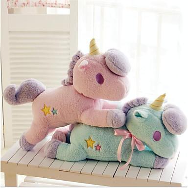 levne Pluszowe zwierzęta-Unicorn Rodina Pluszowe zwierzęta Pohodlný Flanel Vše Hračky Dárek 1 pcs