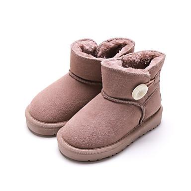 ee0944ec5a2 Chica Zapatos Ante Otoño invierno Botas de nieve Botas Hebilla para Niños  Café   Marrón   Rosa   Botines   Hasta el Tobillo 7076935 2019 –  24.99