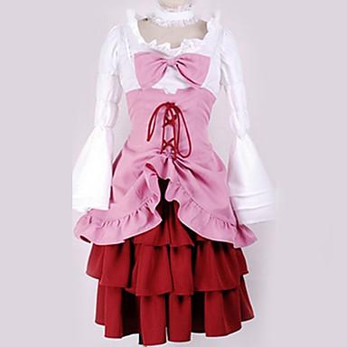 9999 Inspirado Por Umineko No Naku Koro Ni Erika Furudo Animé Disfraces De Cosplay Japonés Trajes Cosplay Clásico Vestido Más Accesorios Para