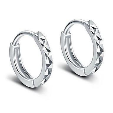 Žene Okrugle naušnice Huggie Naušnice Klasičan Romantični Naušnice Jewelry Pink Za Vjenčanje Dnevno 1 par