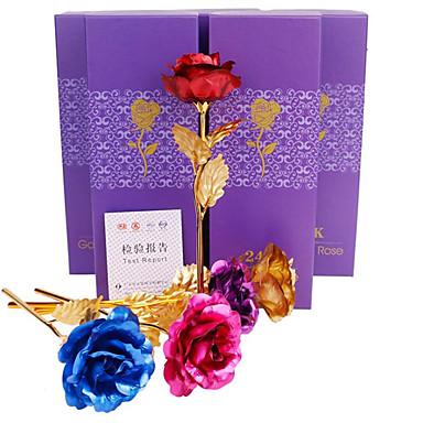Umjetna Cvijeće 1 Podružnica Klasični Suvremena suvremena Tradicionalno Roses Cvjeće za stol