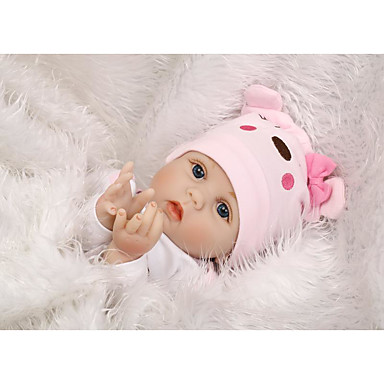 """cheap Reborn Doll-OtardDolls 22 inch Reborn Doll Baby Reborn Baby Doll Newborn lifelike Cute Hand Made Child Safe 22"""" with Clothes and Accessories for Girls' Birthday and Festival Gifts / Non Toxic / Lovely / Kid's"""