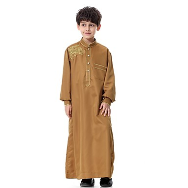 ee8d10423 Kids Boys  Vintage   Basic Party   Daily Solid Colored Long Sleeve ...