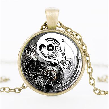 49e54a366 Plague Doctor Pocket Watch Vintage Inspired Steampunk Clockwork Costume  Men's Women's Necklace Vintage Necklace White / Black / Golden Vintage  Cosplay ...