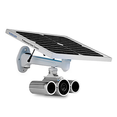 1080p zvijezda cmos solarne energije sigurnost vanjski hw0029-5 kamera s dvije baterije