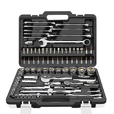 preiswerte Werkzeugsets-CREST® Arbeitsutensilien 82 in 1 Werkzeug Set für die Autoreparatur