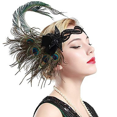 The Great Gatsby Charleston Vintage 1920s The Great Gatsby Roaring 20s Headpiece Flapper ...