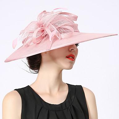 8da7849a Elizabeth The Marvelous Mrs. Maisel Kentucky Derby Hat Hat Ladies Retro /  Vintage Women's Pink Flower Cap Linen / Cotton Cotton / Polyester Costumes  7074750 ...