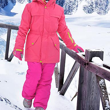 MARSNOW® Dječaci Djevojčice Skijaška jakna i hlače Camping & planinarenje Zimski sportovi Vodootporno Vjetronepropusnost Toplo 100% pamuk žanila Sportska odijela Skijaška odjeća / Zima