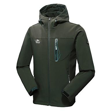 Men s Padded Hiking jacket Outdoor Winter Windproof Breathable Fast Dry  Waterproof Zipper Jacket Winter Jacket Top Waterproof Hiking Camping    Hiking ... 0920f9447cb0