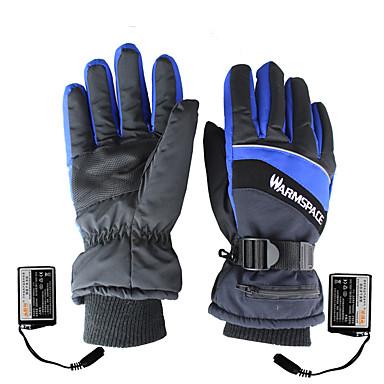 povoljno Motori i quadovi-topli prostor pun prst električno grijanje motocikla rukavice koža držati toplo / nositi / ne skliznuti