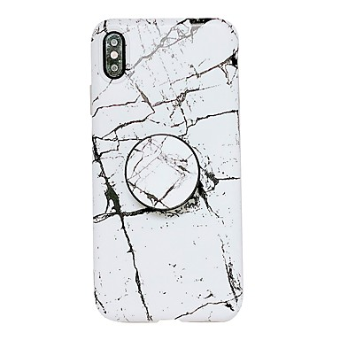 povoljno iPhone maske-Θήκη Za Apple iPhone XS / iPhone XR / iPhone XS Max sa stalkom / IMD Stražnja maska Mramor Mekano TPU
