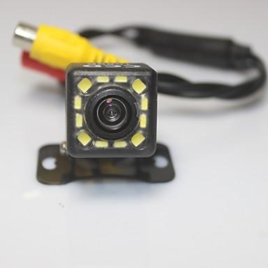 ความช่วยเหลือที่จอดรถด้านหลังรถระบบกล้องมอง 1080p 12 นำ CCD HD มองหลังย้อนกลับกล้องสำรองสากลคืนวิสัยทัศน์กันน้ำ