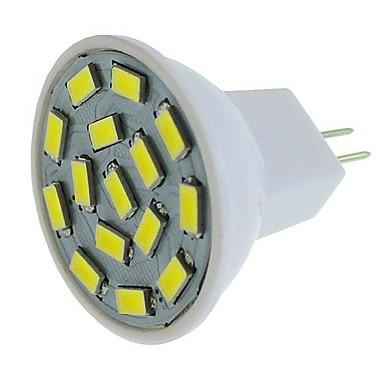 SENCART 6pcs 1pc 6 W LED Σποτάκια 450 lm G4 MR11 MR11 15 LED χάντρες SMD 5630 Διακοσμητικό Θερμό Λευκό Άσπρο Μπλε 12-24 V