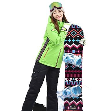 MARSNOW® Žene Skijaška jakna i hlače Camping & planinarenje Zimski sportovi Vodootporno Toplo Prozračnosti Pamuk Sportska odijela Skijaška odjeća / Zima