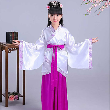 c53d8d161 Dance Costumes Hanfu Girls' Performance Spandex Split Joint Long Sleeve  Skirts / Top / Waist Accessory 7059457 2019 – $22.99