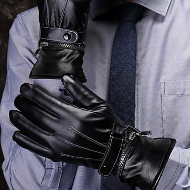 povoljno Motori i quadovi-Cijeli prst Muškarci / Žene Moto rukavice Koža Touch Screen / Ugrijati / Ne skliznuti